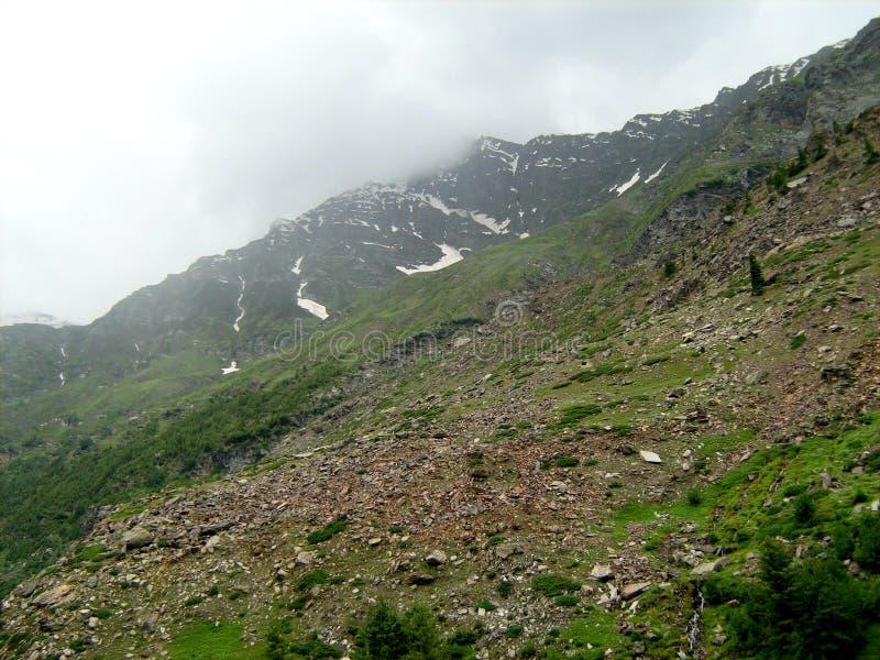 Landschap in ladakh-1 stock fotografie