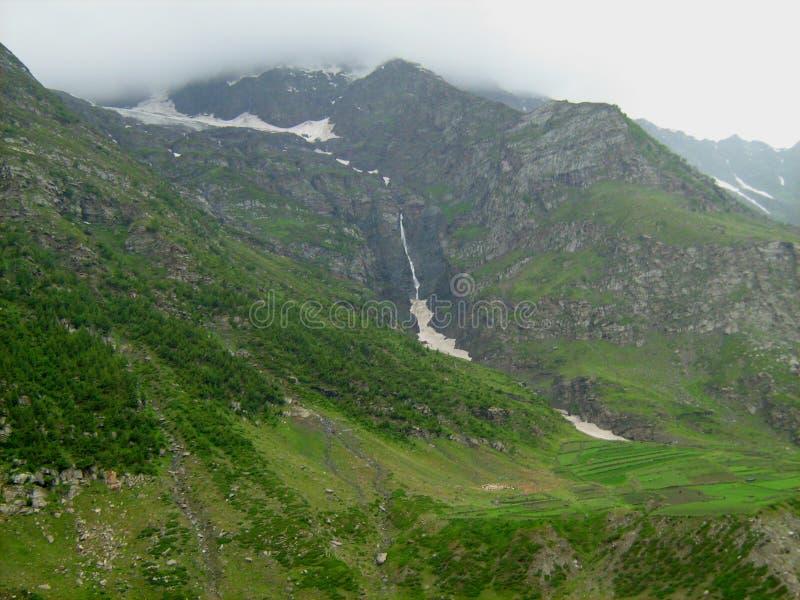Landschap in ladakh-2 stock afbeeldingen