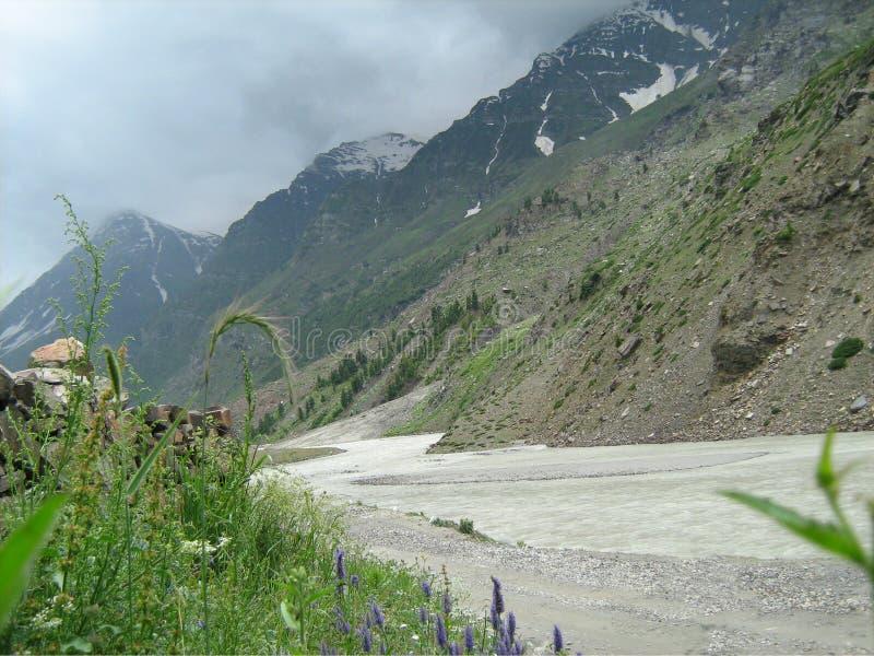 Landschap in ladakh-3 stock fotografie