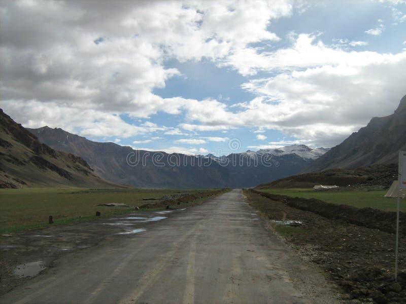 Landschap in ladakh-6 stock afbeeldingen