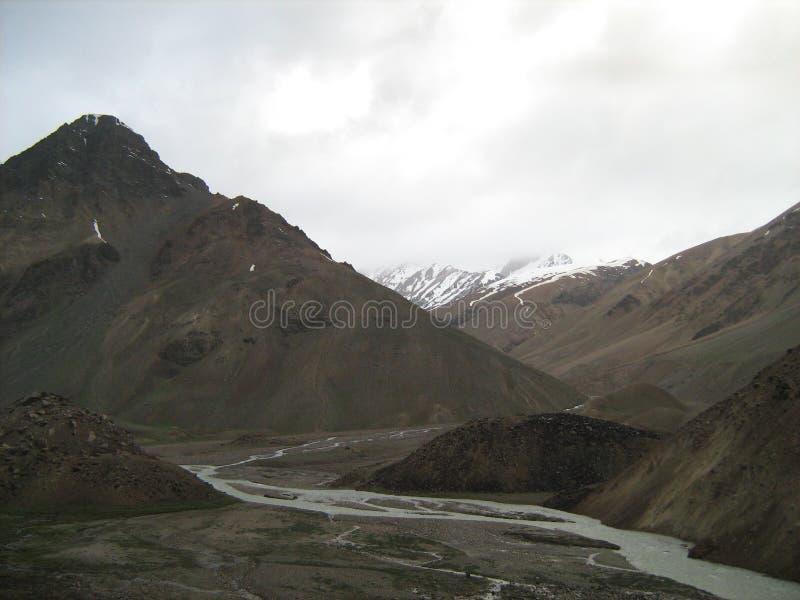 Landschap in ladakh-7 royalty-vrije stock fotografie