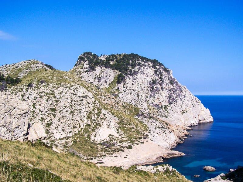 Landschap Mallorca stock fotografie