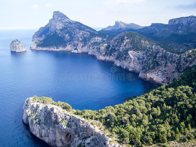 Landschap Mallorca royalty-vrije stock afbeeldingen