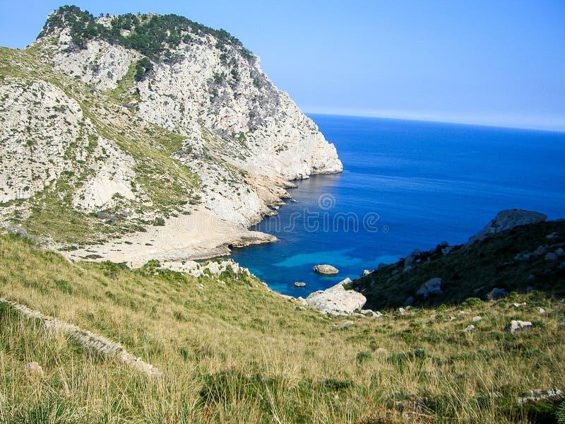 Landschap Mallorca stock afbeelding