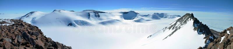 Landschap in Oost-Antarctica royalty-vrije stock foto