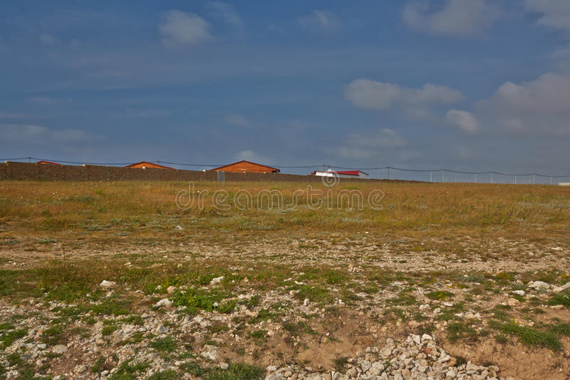 Landschap op een bergplateau stock foto
