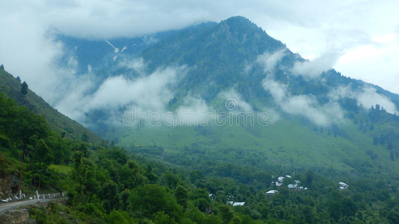 Landschap in pahalgam-13 royalty-vrije stock fotografie