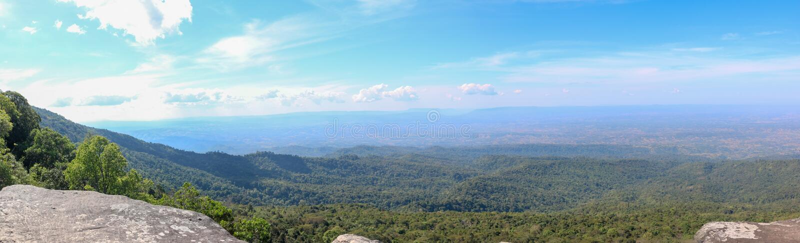 Landschap Phu Hin Rong Kla royalty-vrije stock foto's