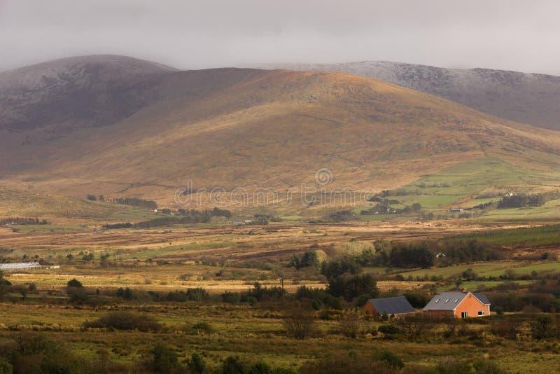 Landschap Ring van Kerry ierland stock foto