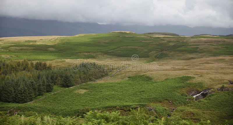 Landschap in Schotland stock fotografie