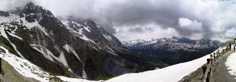 Landschap van bergen royalty-vrije stock foto's