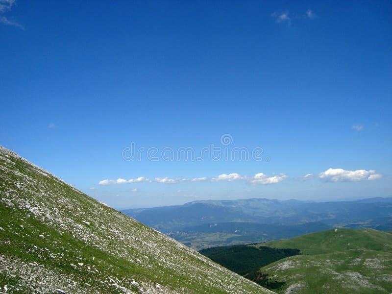 Landschap van Bosnia   royalty-vrije stock afbeelding