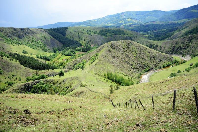 Landschap van de berg royalty-vrije stock afbeelding