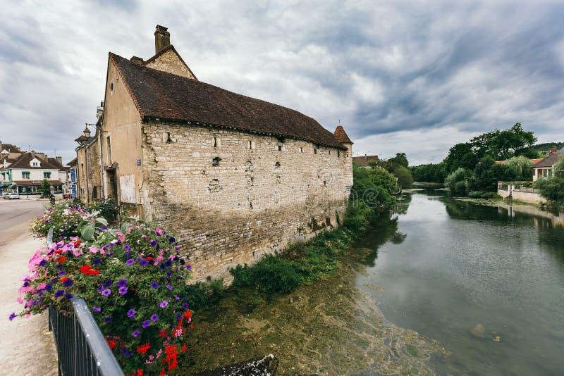 Landschap van de Franse stad royalty-vrije stock fotografie