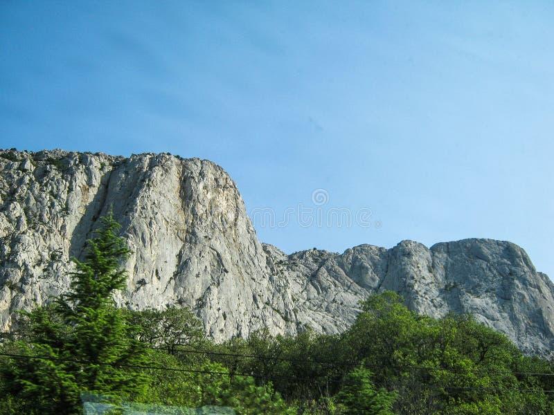 Landschap van de kust van de Krim royalty-vrije stock foto