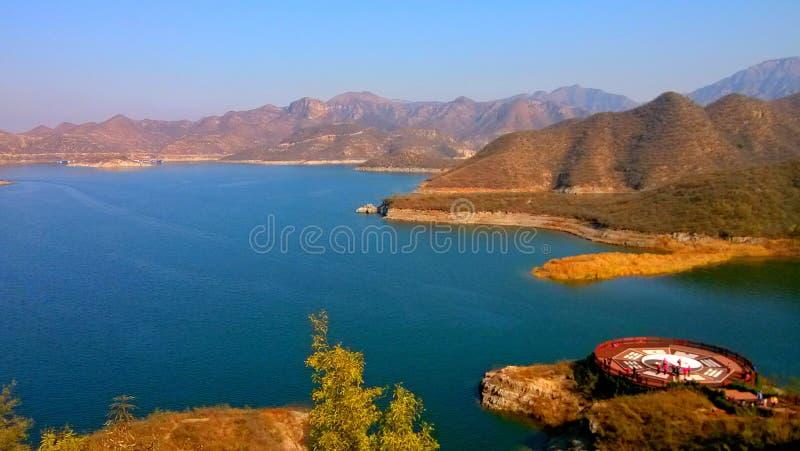landschap van de lijiangrivier in guilin, guangxi royalty-vrije stock foto's