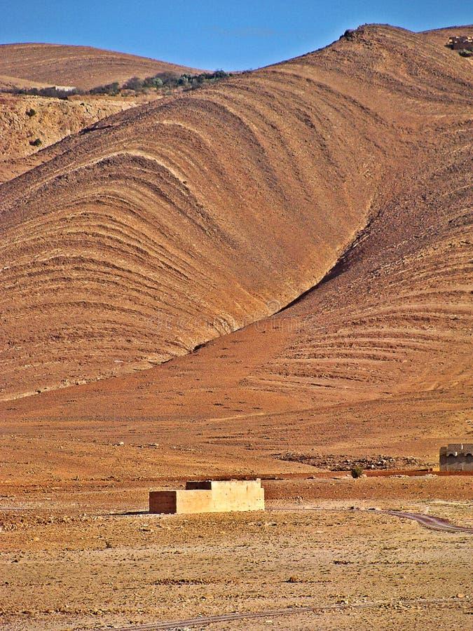 Landschap van de middenatlas, Marokko royalty-vrije stock foto's
