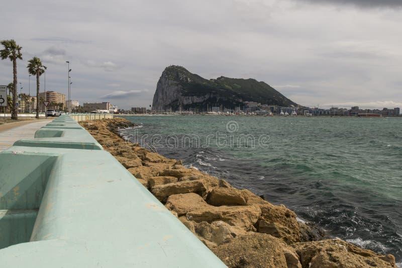 Landschap van de Rots van Gibraltar royalty-vrije stock foto