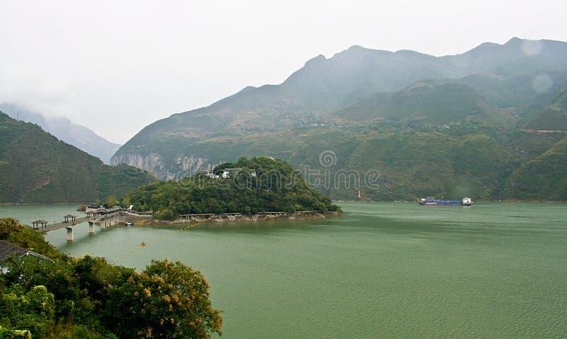 Landschap van de stad van fengjiebaidi stock foto's