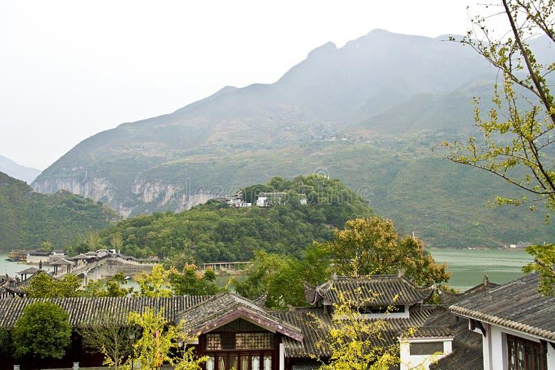Landschap van de stad van fengjiebaidi royalty-vrije stock foto