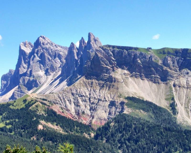 Landschap van Dolomiet royalty-vrije stock foto's