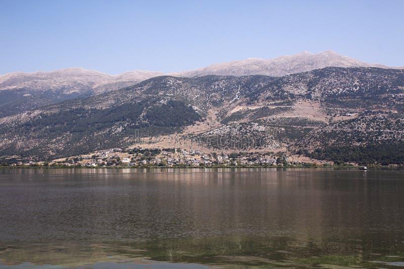 Landschap van een meer royalty-vrije stock foto