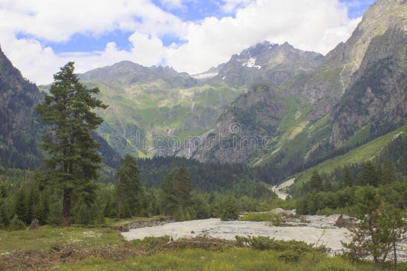 Landschap van Georgië royalty-vrije stock afbeeldingen