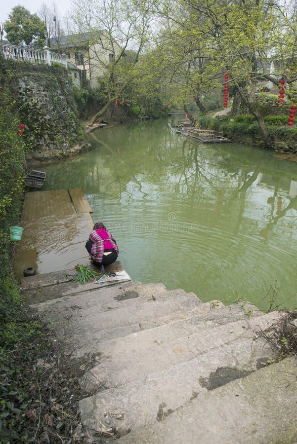 Landschap van het Zhejiang het changxing platteland royalty-vrije stock afbeeldingen