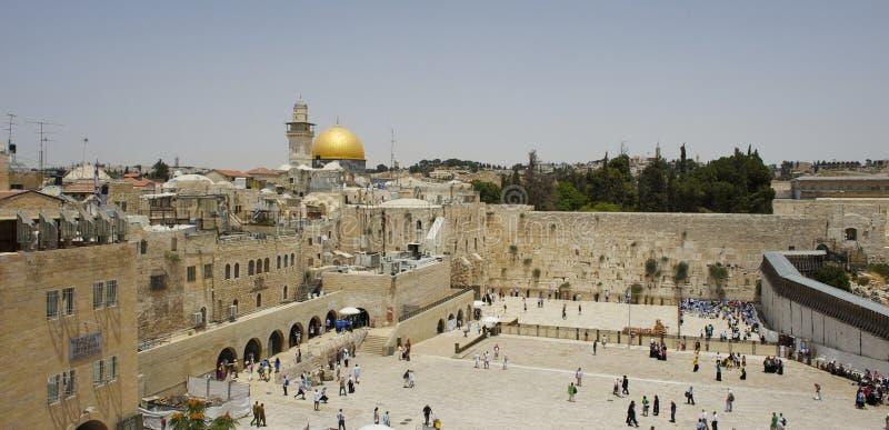 Landschap van Jeruzalem stock afbeelding