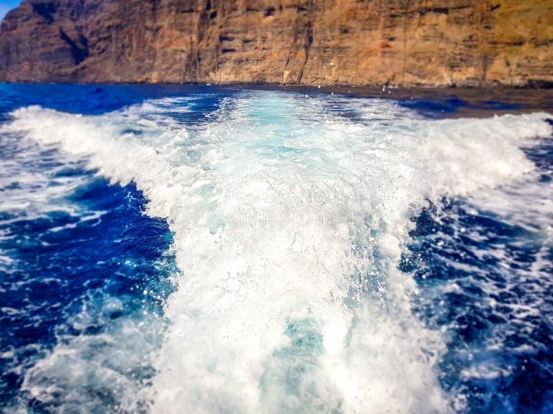 Landschap van Los Gigantes Klippen, Tenerife, Canarische Eilanden, Spanje stock afbeeldingen