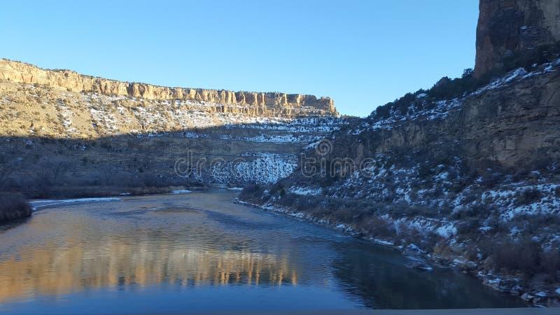 Landschap 7 van Montana royalty-vrije stock afbeeldingen