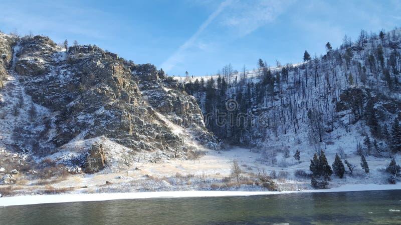 Landschap 6 van Montana royalty-vrije stock foto
