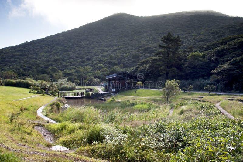 Landschap van nationaal park royalty-vrije stock foto's