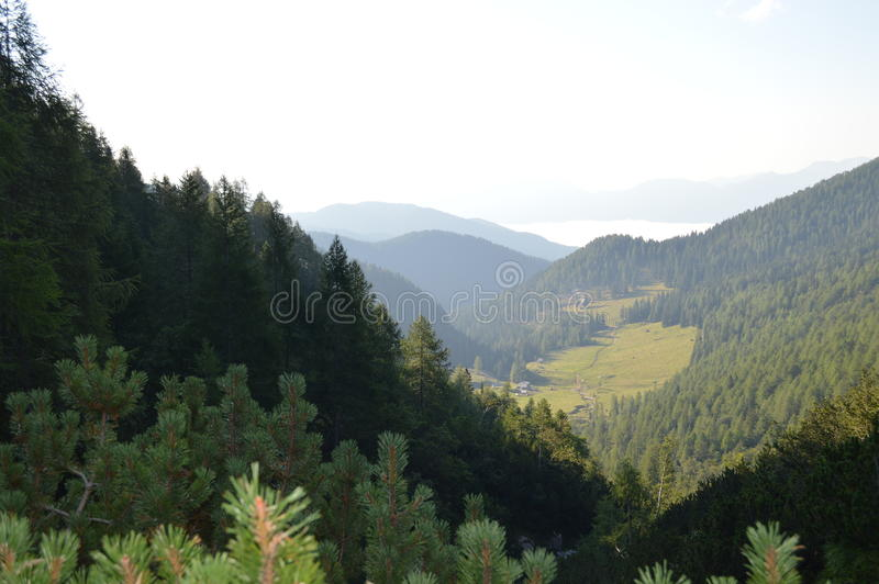 Landschap van Triglav royalty-vrije stock fotografie