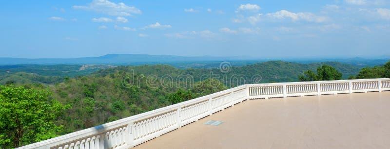 Landschap van watpaphukon Udonthani in Thailand royalty-vrije stock afbeeldingen