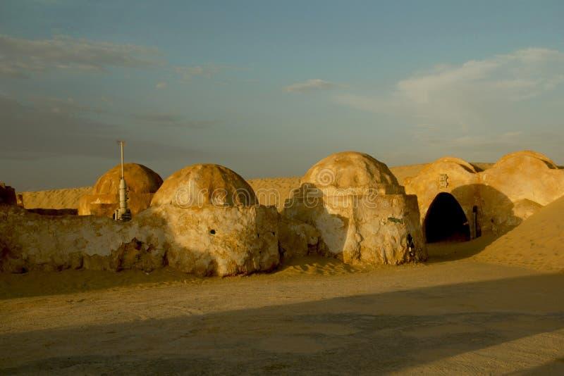 Landschap voor de film Star Wars stock foto's