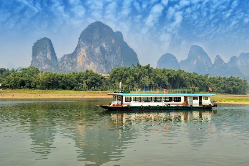 Landschap in Yangshuo Guilin royalty-vrije stock afbeeldingen