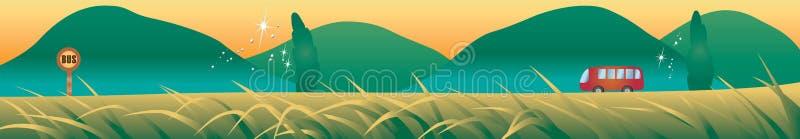 Landschappen vector illustratie
