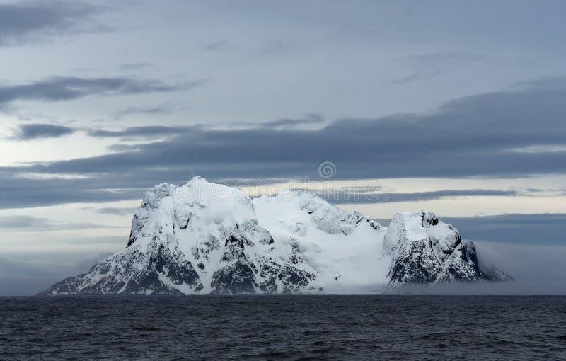 Landschappen van Antarctica stock afbeeldingen