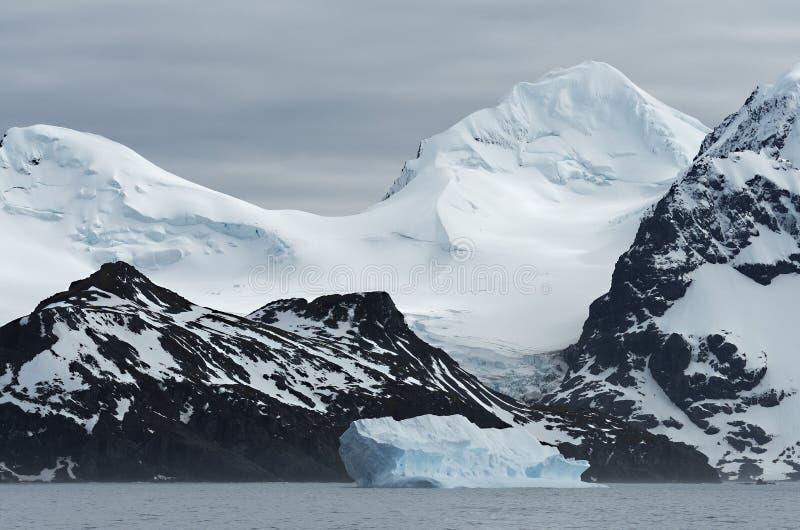 Landschappen van Antarctica royalty-vrije stock fotografie