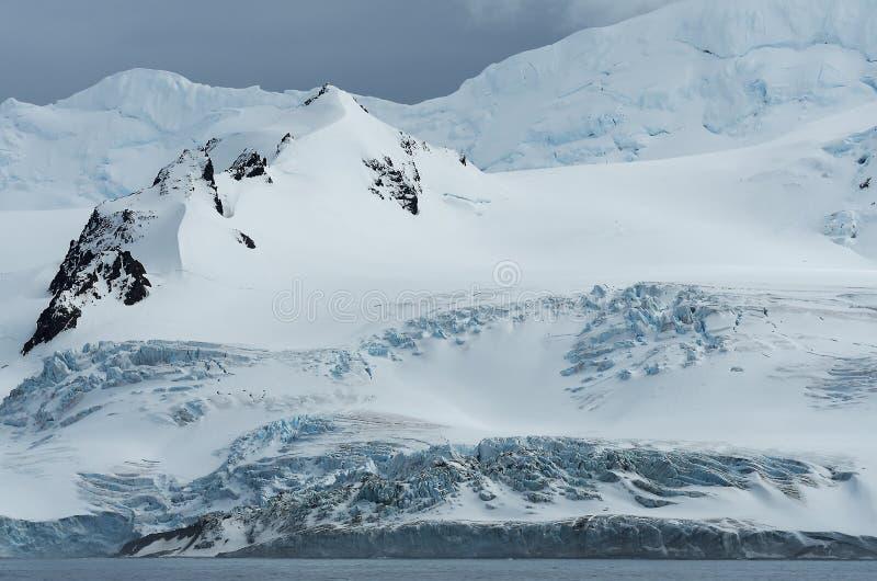 Landschappen van Antarctica royalty-vrije stock foto's