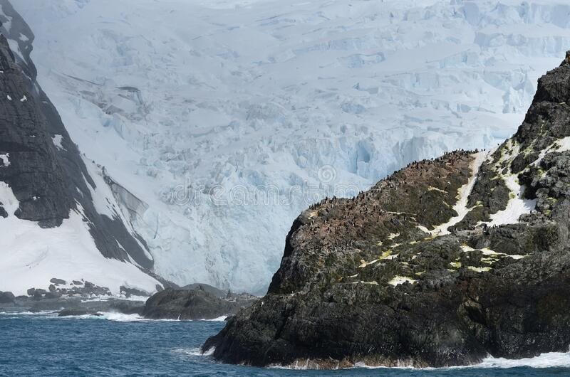 Landschappen van Antarctica stock fotografie