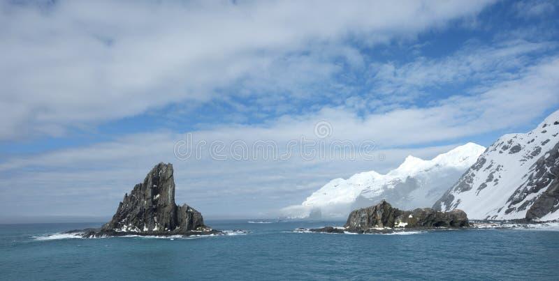Landschappen van Antarctica royalty-vrije stock afbeelding