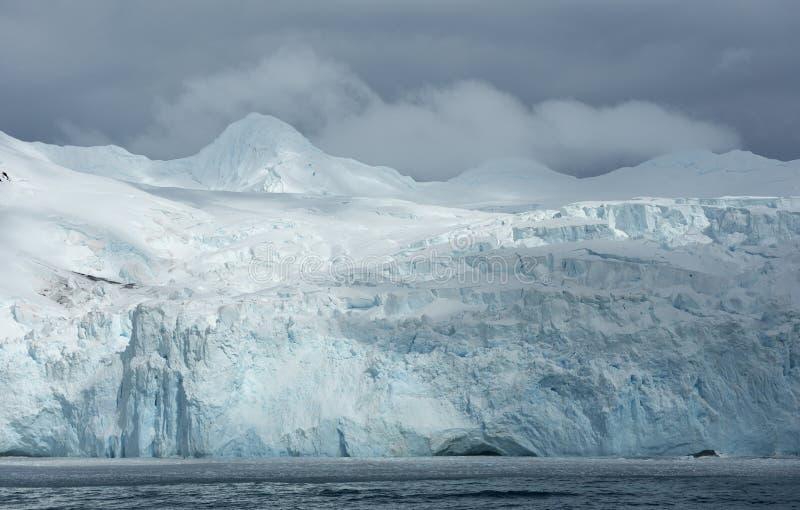 Landschappen van Antarctica stock afbeelding