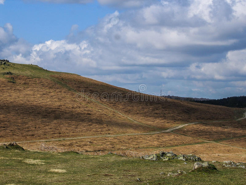Landschappen van Engeland royalty-vrije stock afbeelding