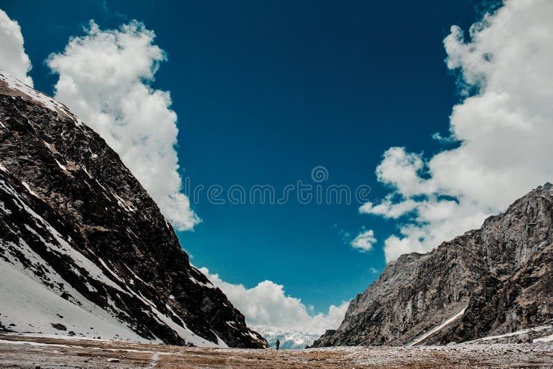 Landschappen van manali stock afbeeldingen