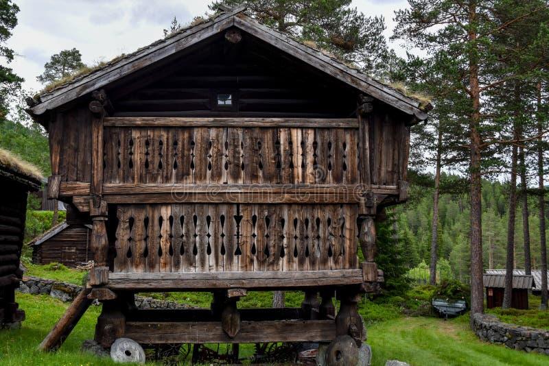 Landschappen van Noorwegen stock foto's