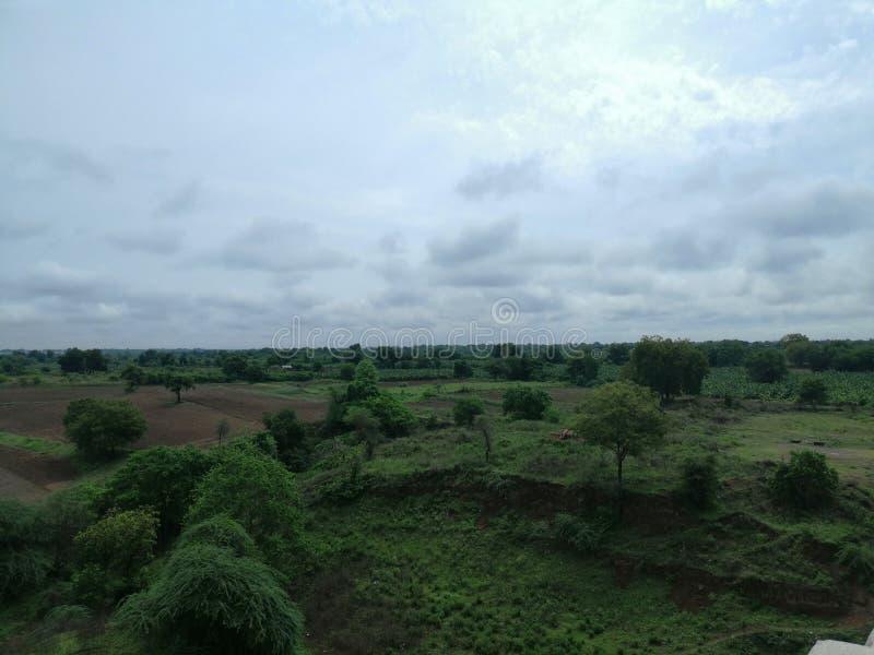 Landschaps natuurlijke schoonheid stock foto