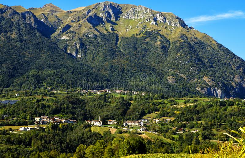 Landschaps Noord-Italië royalty-vrije stock fotografie