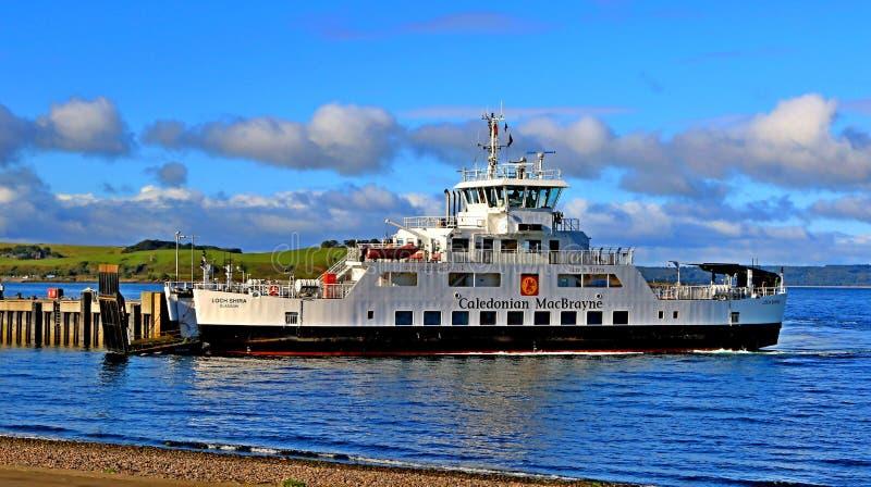 Landschapscal de veerboot largs ayrshire Schotland van MAC stock foto's